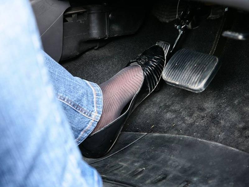 Left Foot Accelerator Vehicle Adaptation