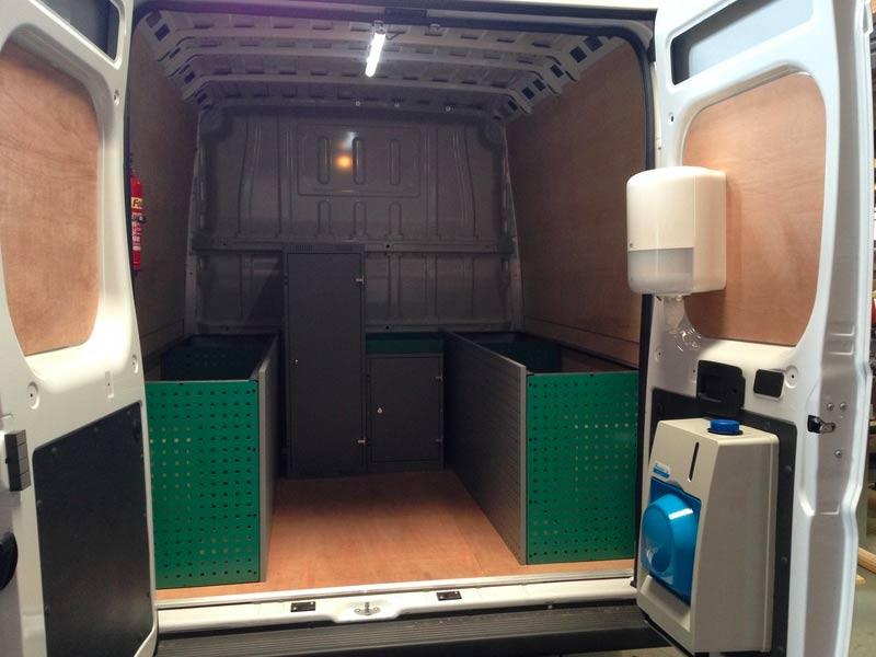 Tool Storage Trade Vehicle Adaptation