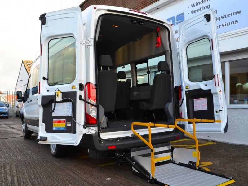 Transit WAV Minibus Conversion